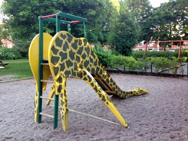 Giraff i Giraffparken (Tegnérparken), Uppsala